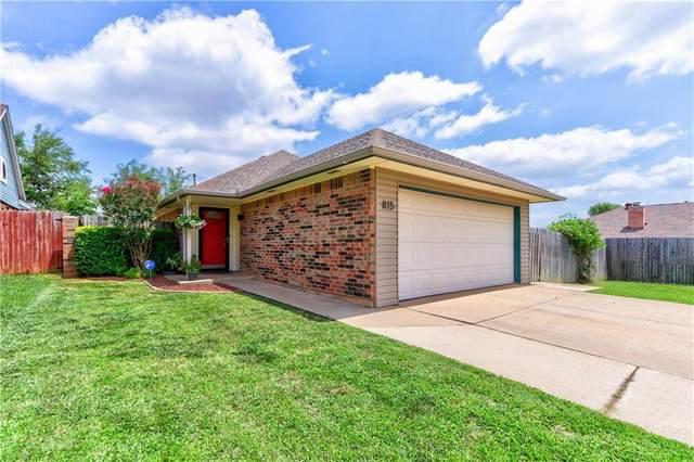 815 NE 17th Court, Moore, OK 73160 (MLS #918272) :: Keri Gray Homes