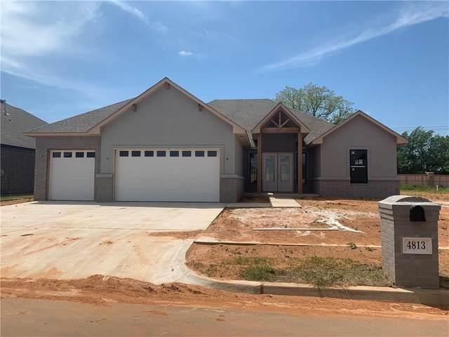 4813 Hambletonian Lane, Mustang, OK 73064 (MLS #918347) :: Keri Gray Homes