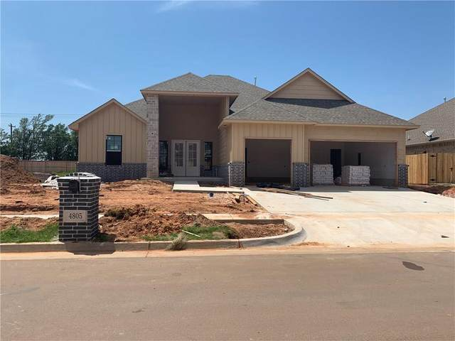 4805 Hambletonian Lane, Mustang, OK 73064 (MLS #918353) :: Keri Gray Homes