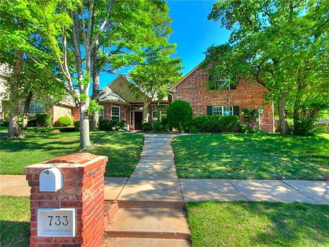 733 Riva Ridge, Edmond, OK 73025 (MLS #918517) :: Homestead & Co