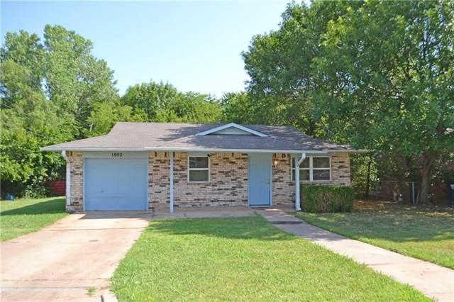 1802 E Edwards Street, Shawnee, OK 74801 (MLS #918783) :: Erhardt Group at Keller Williams Mulinix OKC