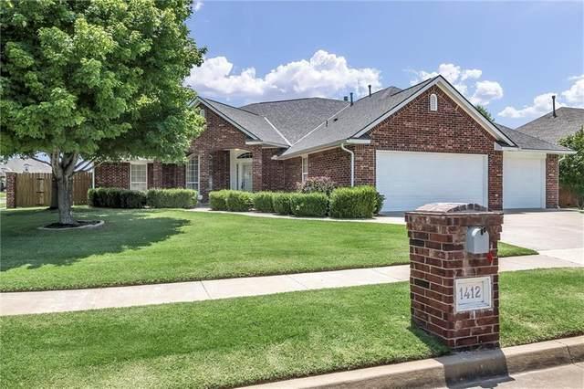 1412 SW 131st Street, Oklahoma City, OK 73170 (MLS #918791) :: Erhardt Group at Keller Williams Mulinix OKC