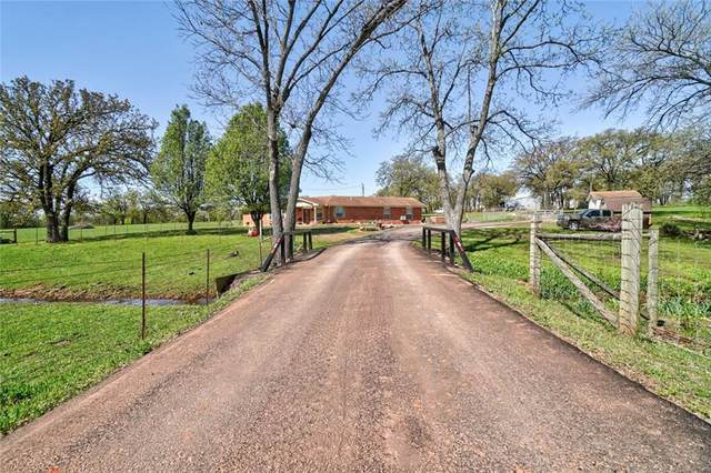 22400 S Rangeline Road, Tecumseh, OK 74873 (MLS #918913) :: Homestead & Co