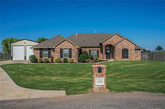 4500 Vista Valley Lane, Edmond, OK 73025 (MLS #918959) :: Homestead & Co
