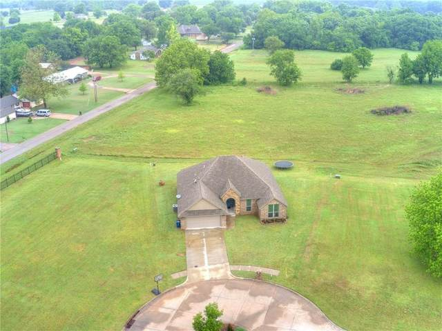 809 Bella Court, Purcell, OK 73080 (MLS #919270) :: Homestead & Co