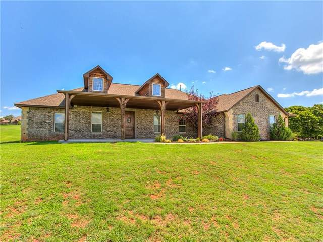 8616 Bella Circle, Choctaw, OK 73020 (MLS #919449) :: Homestead & Co