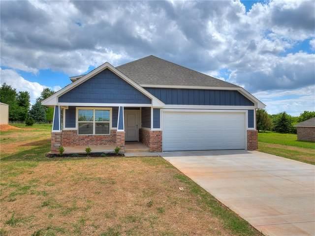 1410 Lakeview Drive, Edmond, OK 73034 (MLS #919847) :: Homestead & Co