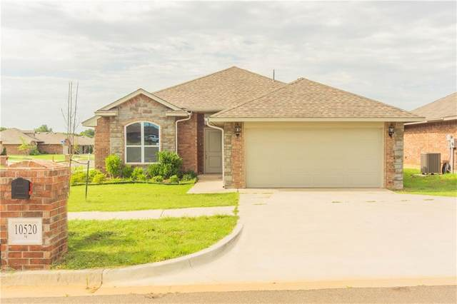 10520 Turtle Back Drive, Midwest City, OK 73130 (MLS #919850) :: Homestead & Co
