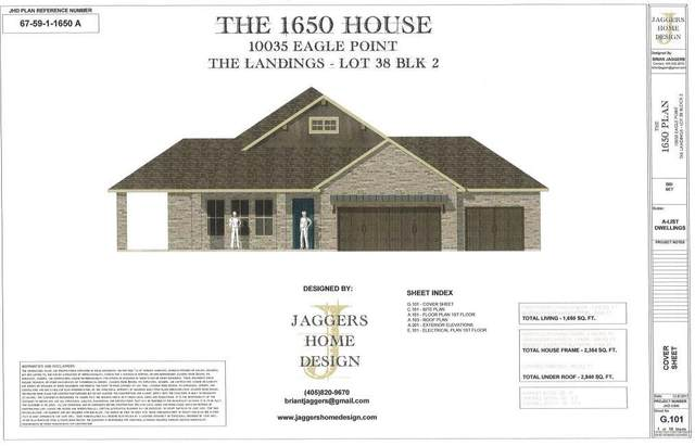 10035 Eagle Point, Newalla, OK 74857 (MLS #919930) :: ClearPoint Realty