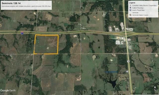 0000 N 3540 Road, Seminole, OK 74840 (MLS #920036) :: Keri Gray Homes
