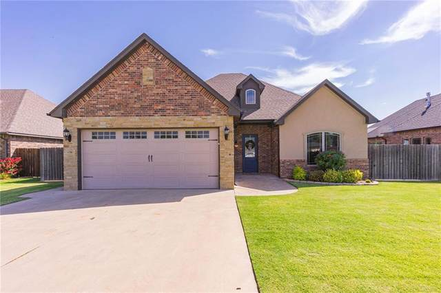 1316 Crimson Drive, Weatherford, OK 73096 (MLS #920037) :: Keri Gray Homes