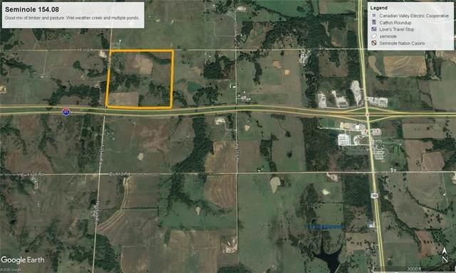 0000 E 1120 Road, Seminole, OK 74840 (MLS #920040) :: Keri Gray Homes