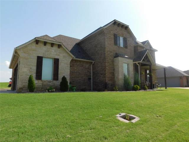 1801 Tyler Terrace, Prague, OK 74864 (MLS #920406) :: Erhardt Group at Keller Williams Mulinix OKC