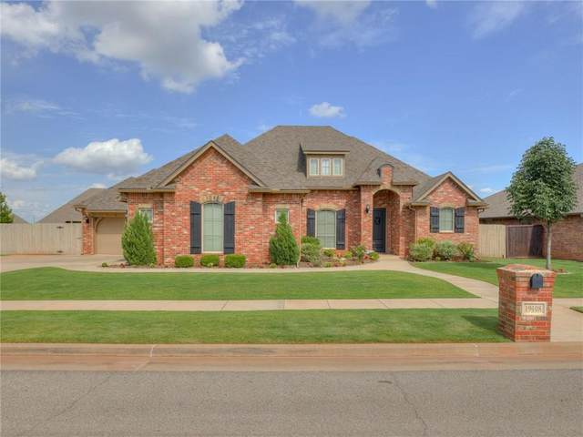 19108 Butterfly Boulevard, Edmond, OK 73012 (MLS #921101) :: Erhardt Group at Keller Williams Mulinix OKC