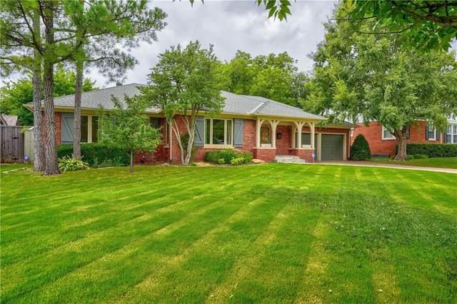 7009 Trenton Road, Nichols Hills, OK 73116 (MLS #921201) :: ClearPoint Realty