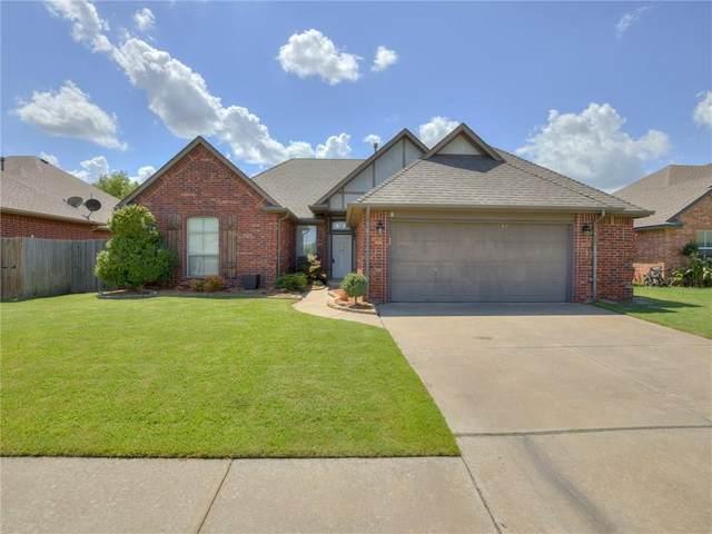 16609 La Paloma Lane, Edmond, OK 73012 (MLS #921258) :: Keri Gray Homes