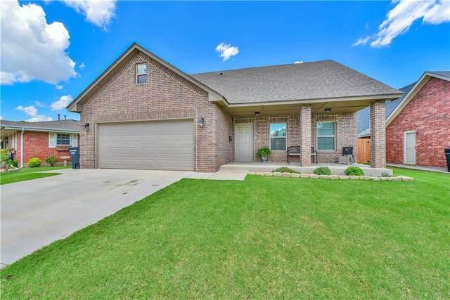 732 N Norman Avenue, Moore, OK 73160 (MLS #922545) :: Keri Gray Homes