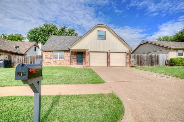 513 S Patterson Drive, Moore, OK 73160 (MLS #922745) :: Your H.O.M.E. Team