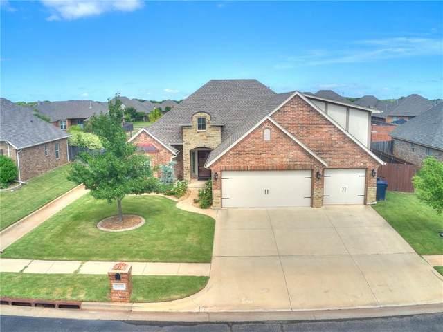 15408 Homecoming Drive, Edmond, OK 73013 (MLS #923211) :: Homestead & Co