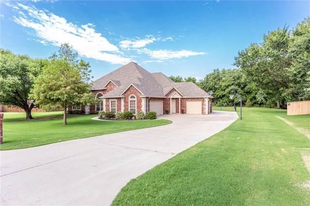 14555 Cottonwood Drive, Edmond, OK 73025 (MLS #923401) :: Homestead & Co
