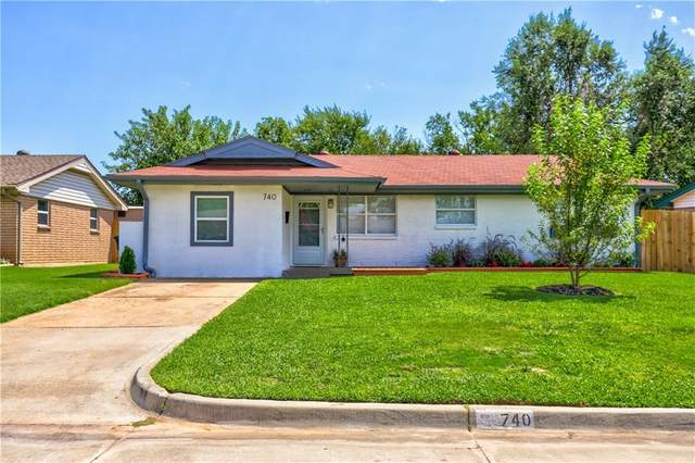 740 N Bristow Avenue, Moore, OK 73160 (MLS #924152) :: Your H.O.M.E. Team