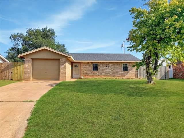 413 Hoover Circle, Elk City, OK 73644 (MLS #924571) :: The UB Home Team at Whittington Realty