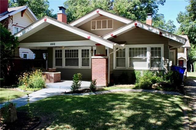 446 College Avenue, Norman, OK 73069 (MLS #924633) :: Erhardt Group at Keller Williams Mulinix OKC