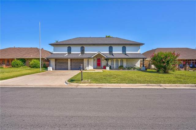 6605 Candlewood Drive, Oklahoma City, OK 73132 (MLS #925536) :: Homestead & Co
