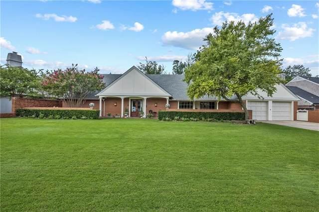 7605 Dorset Drive, Nichols Hills, OK 73116 (MLS #926386) :: ClearPoint Realty