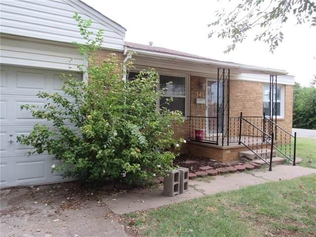 341 E Terrace Street, Pauls Valley, OK 73075 (MLS #926502) :: Erhardt Group at Keller Williams Mulinix OKC