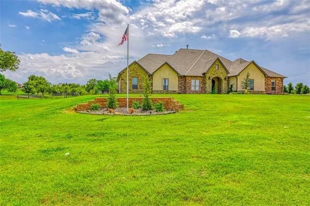 1232 Prairie Meadow Lane, Tuttle, OK 73089 (MLS #926632) :: Homestead & Co