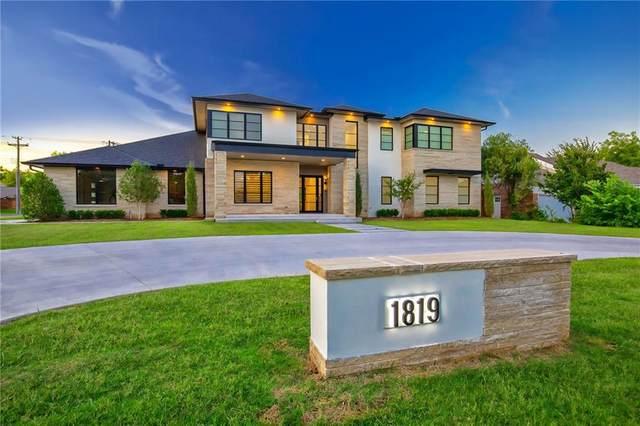 1819 W Wilshire Boulevard, Nichols Hills, OK 73116 (MLS #926913) :: Keri Gray Homes