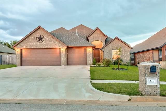 1408 Atalon Drive, Moore, OK 73160 (MLS #927049) :: Homestead & Co