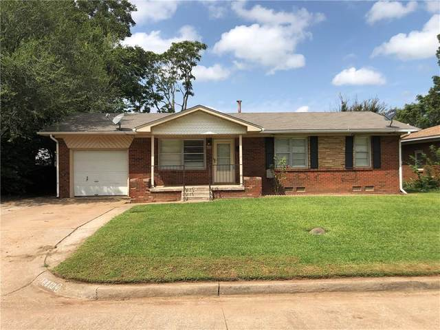 813 General Senter Drive, Midwest City, OK 73110 (MLS #927256) :: Erhardt Group at Keller Williams Mulinix OKC