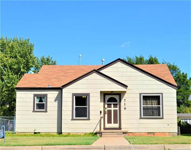719 N Grant Street, Cordell, OK 73632 (MLS #927299) :: Homestead & Co