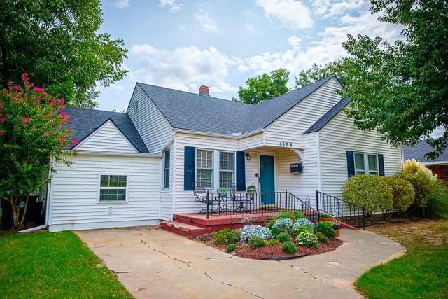 4508 N College Avenue, Bethany, OK 73008 (MLS #927389) :: Homestead & Co