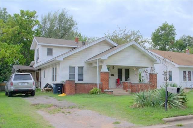 510 N Chapman Street, Shawnee, OK 74801 (MLS #927563) :: Keri Gray Homes