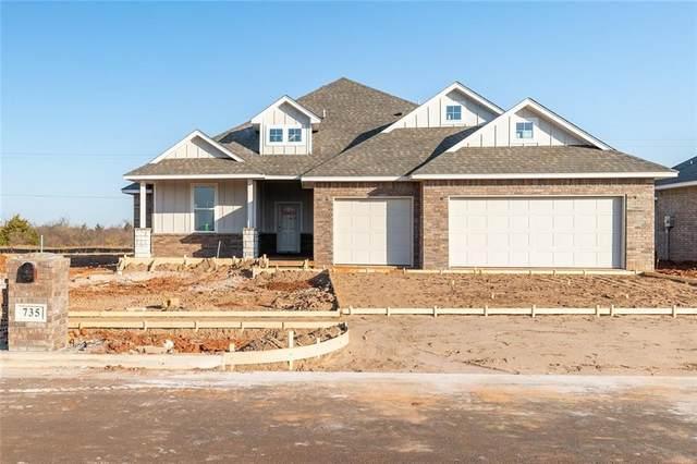 735 Acorn Bend, Piedmont, OK 70378 (MLS #927759) :: The UB Home Team at Whittington Realty