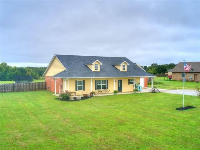 17361 S Rock Creek Road, Shawnee, OK 74801 (MLS #927799) :: Homestead & Co