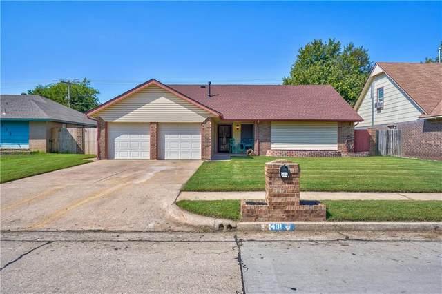 401 N Ramblin Oaks Drive, Moore, OK 73160 (MLS #927907) :: The Oklahoma Real Estate Group