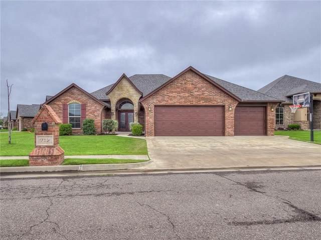 17301 Serrano Drive, Oklahoma City, OK 73170 (MLS #927993) :: Erhardt Group at Keller Williams Mulinix OKC
