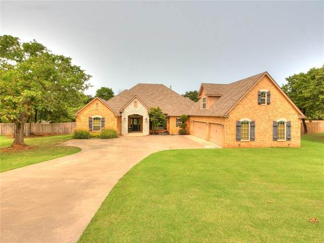 5421 Panther Cove, Newalla, OK 74857 (MLS #928153) :: Homestead & Co