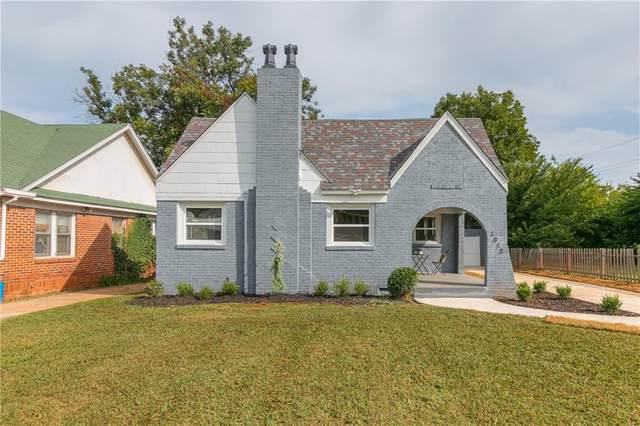 1013 NE 18th Street, Oklahoma City, OK 73111 (MLS #928332) :: Erhardt Group at Keller Williams Mulinix OKC