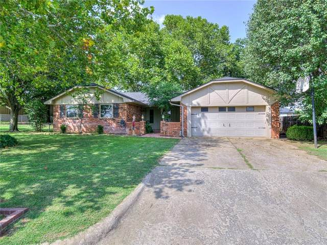 923 Louise Terrace, Purcell, OK 73080 (MLS #928561) :: Erhardt Group at Keller Williams Mulinix OKC