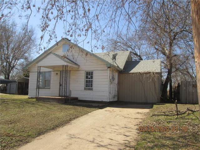 409 S Santa Fe Street, Purcell, OK 73080 (MLS #928662) :: Erhardt Group at Keller Williams Mulinix OKC