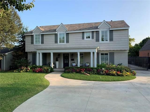 1118 Tedford Way, Nichols Hills, OK 73116 (MLS #928860) :: The Oklahoma Real Estate Group