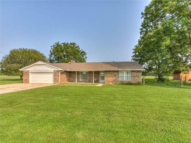 17101 Brangus Road, Shawnee, OK 74801 (MLS #928866) :: Homestead & Co