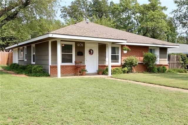 401 E Kerr Drive, Midwest City, OK 73110 (MLS #928879) :: Homestead & Co