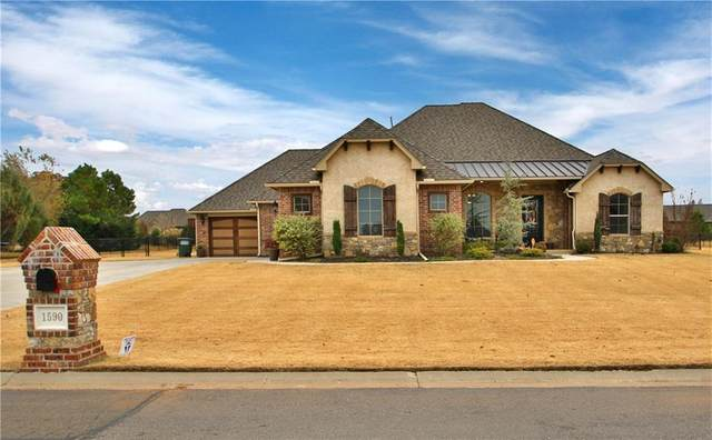 1590 Palazzo Pointe, Edmond, OK 73083 (MLS #929011) :: Homestead & Co