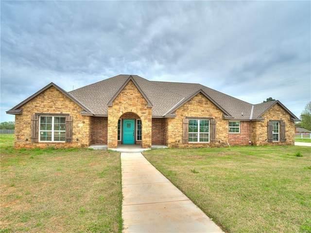 12939 Meadow Ridge, McLoud, OK 74804 (MLS #929053) :: Homestead & Co